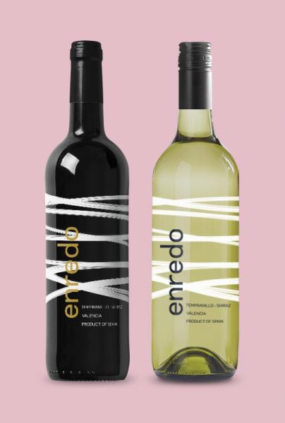 Etiqueta Vino Enredo