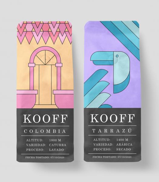 Packaging Café Kooff